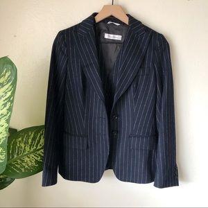 MaxMara | Pinstripe Blazer & Vest